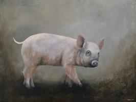 Obraz do salonu artysty Klaudia Choma pod tytułem Świnka