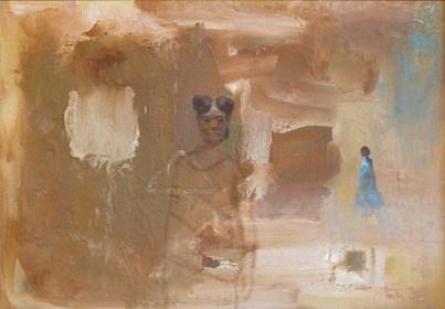 Obraz do salonu artysty Michał Smółka pod tytułem Afrykański motyw
