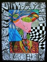 Obraz do salonu artysty Luiza Poreda pod tytułem Alicja w Krainie Czarów