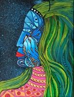 Obraz do salonu artysty Luiza Poreda pod tytułem La Que Sabe (Ta, Która Wie)