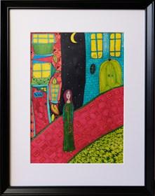 Obraz do salonu artysty Luiza Poreda pod tytułem Izolacja w Krainie Czarów