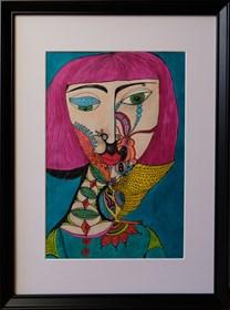 Obraz do salonu artysty Luiza Poreda pod tytułem Moi wymyśleni przyjaciele
