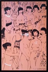 Obraz do salonu artysty Edward Dwurnik pod tytułem Twelve