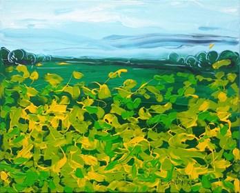 Obraz do salonu artysty Edward Dwurnik pod tytułem Kaczeńce