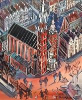 Obraz do salonu artysty Edward Dwurnik pod tytułem Kraków
