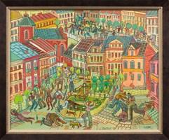 Obraz do salonu artysty Edward Dwurnik pod tytułem Sierpc