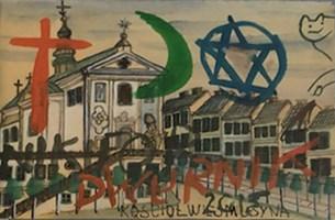 Obraz do salonu artysty Edward Dwurnik pod tytułem Dwurnik na Nikiforze