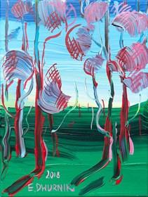 Obraz do salonu artysty Edward Dwurnik pod tytułem Sosny