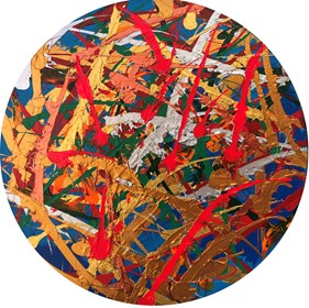 Obraz do salonu artysty Edward Dwurnik pod tytułem Obraz numer 395