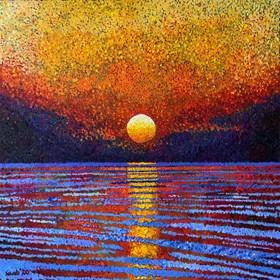 Obraz do salonu artysty David Schab pod tytułem Zachód słońca