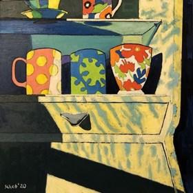 Obraz do salonu artysty David Schab pod tytułem Kredens