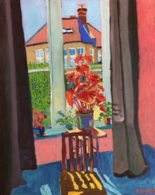Obraz do salonu artysty David Schab pod tytułem Słoneczny pokój