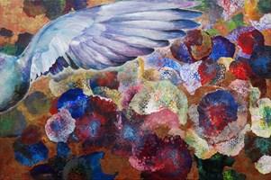 Obraz do salonu artysty Katarzyna Kałdowska pod tytułem Gołąb
