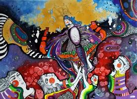 Obraz do salonu artysty Natalia Pastuszenko pod tytułem Wanessa Atalanta