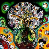Obraz do salonu artysty Natalia Pastuszenko pod tytułem Bukiet genealogiczny