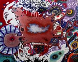 Obraz do salonu artysty Natalia Pastuszenko pod tytułem Jak obłok