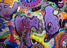 Obraz do salonu artysty Natalia Pastuszenko pod tytułem Gdzie jest konik