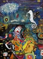 Obraz do salonu artysty Natalia Pastuszenko pod tytułem Morski konik