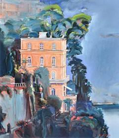 Obraz do salonu artysty Rafał Knop pod tytułem Villa Tritone Sorento