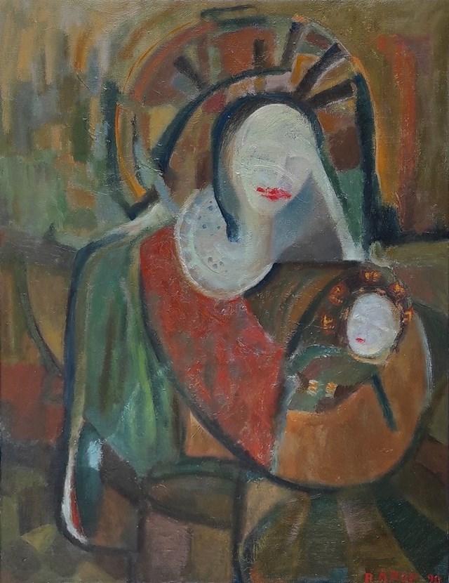 Obraz do salonu artysty Rafał Knop pod tytułem Matka Boska Pomadkowa