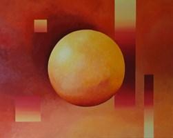 Obraz do salonu artysty Anna Stawowczyk pod tytułem Zanurzenie w energii 1