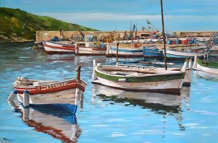 Obraz do salonu artysty Magdalena Kępka pod tytułem El Port de la Selva