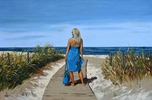 Obraz do salonu artysty Magdalena Kępka pod tytułem Idealny dzień na plażę