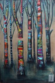 Obraz do salonu artysty Wojciech Brewka pod tytułem Don't kill