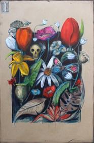 Obraz do salonu artysty Wojciech Brewka pod tytułem Mucha nie siada