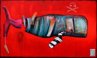 Obraz do salonu artysty Wojciech Brewka pod tytułem S_pokój
