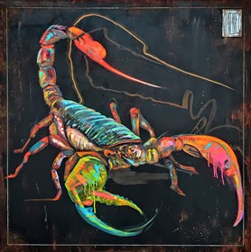 Obraz do salonu artysty Wojciech Brewka pod tytułem Scorpio