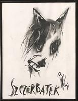 Obraz do salonu artysty Bożena Wahl pod tytułem Psi portret 2