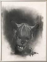 Obraz do salonu artysty Bożena Wahl pod tytułem Psi portret 3