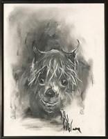 Obraz do salonu artysty Bożena Wahl pod tytułem Psi portret 4