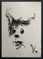 Obraz do salonu artysty Bożena Wahl pod tytułem Portret pieska 2