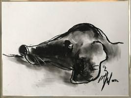 Obraz do salonu artysty Bożena Wahl pod tytułem Piesek 3
