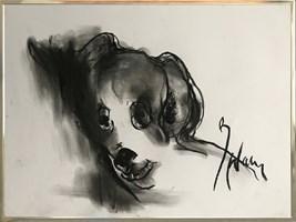 Obraz do salonu artysty Bożena Wahl pod tytułem Piesek 4