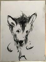 Obraz do salonu artysty Bożena Wahl pod tytułem Piesek 7