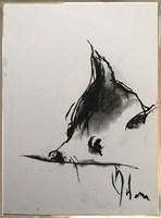 Obraz do salonu artysty Bożena Wahl pod tytułem Piesek 6