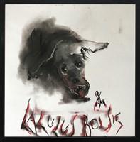 Obraz do salonu artysty Bożena Wahl pod tytułem Laluś boi się