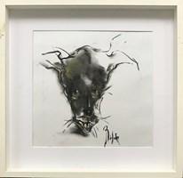 Obraz do salonu artysty Bożena Wahl pod tytułem Piesek