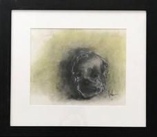 Obraz do salonu artysty Bożena Wahl pod tytułem Zielony Klaun