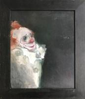 Obraz do salonu artysty Bożena Wahl pod tytułem Uśmiechnięty klaun