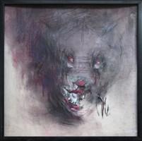 Obraz do salonu artysty Bożena Wahl pod tytułem Diabeł psi