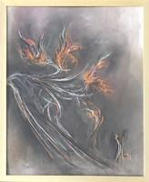 Obraz do salonu artysty Bożena Wahl pod tytułem Abstrakcja 1