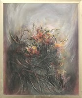 Obraz do salonu artysty Bożena Wahl pod tytułem Abstrakcja 2