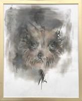 Obraz do salonu artysty Bożena Wahl pod tytułem Pies - portret 3