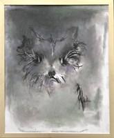 Obraz do salonu artysty Bożena Wahl pod tytułem Pies - portret 4