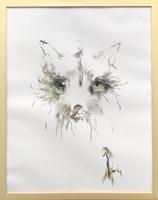 Obraz do salonu artysty Bożena Wahl pod tytułem Pies - portret 5
