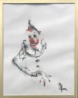 Obraz do salonu artysty Bożena Wahl pod tytułem Wesoły Klaun 2